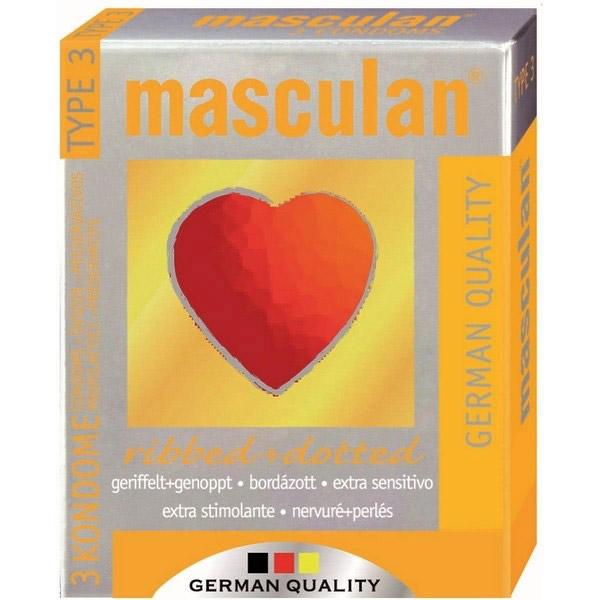 Masculan naborano-tačkasti kondomi