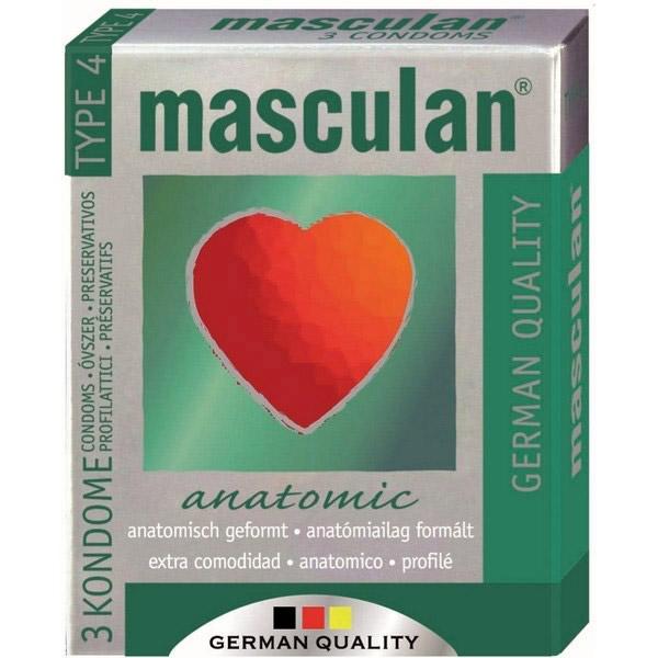 Masculan anatomski kondomi
