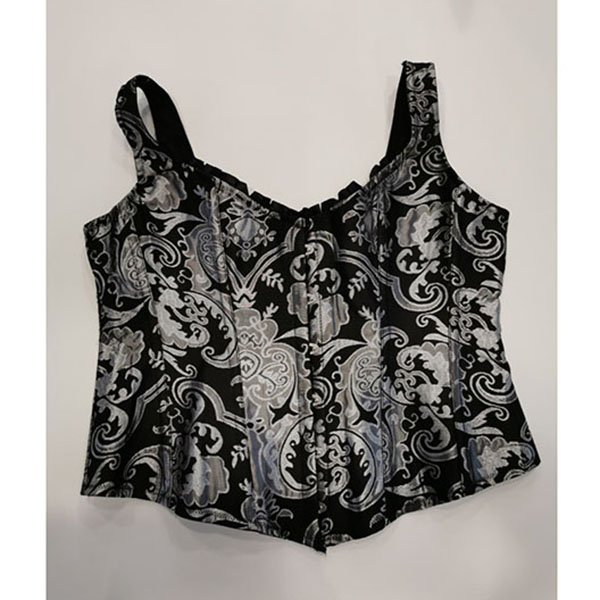 Srebrni korset Silver corset