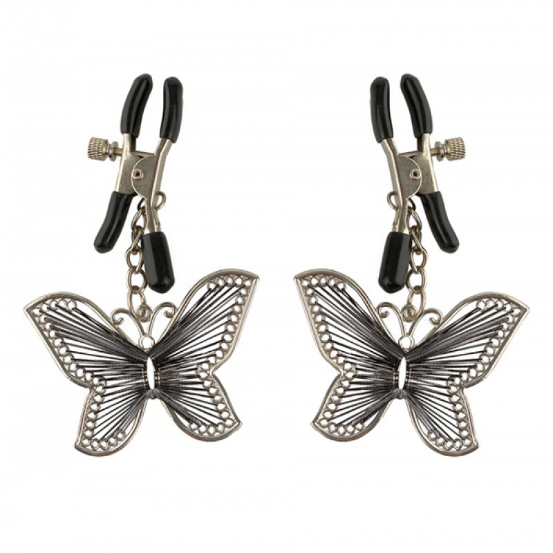 Nakit za bradavice Butterfly Nipple Clamps