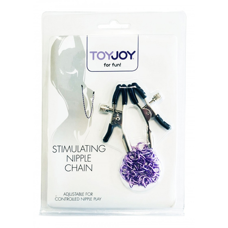Podesive štipaljke za bradavice Stimulating Nipple Chain